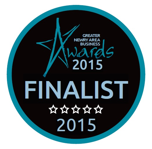 Best New Business Award Finalist, Greater Newry Area Business Awards 2015